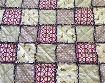 Custom rag quilt!