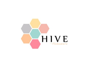 Honeycomb Logo Design - Pre-designed exclusive modern - colorful logo