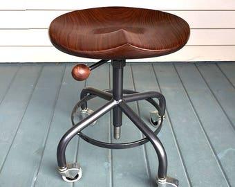 Industrial stool metal base stool vintage metal stool guitar player stool computer & Guitar stool | Etsy islam-shia.org