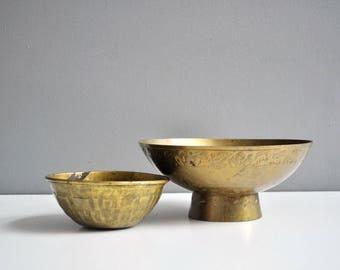 Vintage Petite Brass Bowl - Trinket Dish