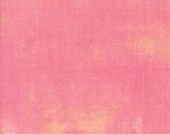 Fabric by the Yard- Grunge Basics in Peony- by Basic Grey for Moda