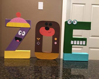 Hey Duggee Custom Letters  - price is per letter
