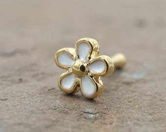 Daisy Gold Nose Ring Gold Nose Stud