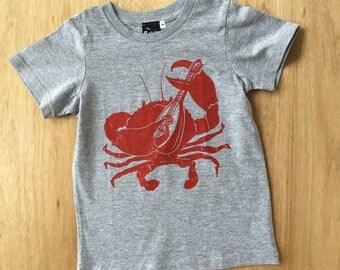 Kids Tee Crab