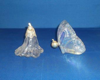 """Vintage Avon Pettit-Fleur Decanter, Flower Blossom Cologne Decanter, Vintage Avon Butterfly Cologne Decanter """"topaze"""""""