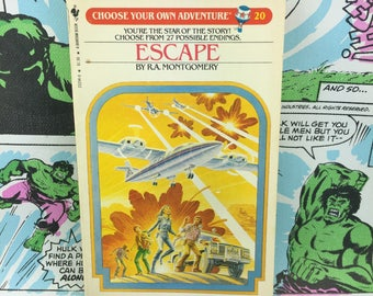 Choose Your Own Adventure #20 - Escape - R.A. Montgomery - CYOA
