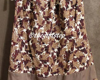 Toddler Fall Brown Leaf Dress Size 4T