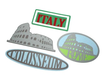 Italy die cuts - 1 die - you choose the die (C9)