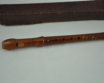 Johannes Adler Magnamusic #1611 FDHB- Flute-F Sopranino in orignal BOX!