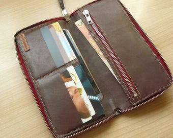 Travel  wallet // iphone wallet phone case // Gift for him // Gift for her