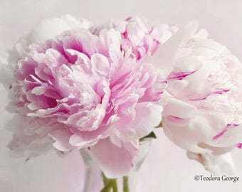 Peonies Photography, Flower Photography, Garden Photography, Still Life
