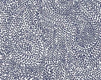 Vine Maze - Midnight Blue from Michael Miller