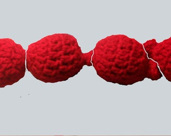Eco Friendly, Reusable Water balloons. Hand crocheted set of 4.