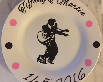 Elvis Personalized Plate