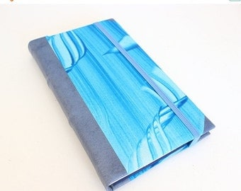 ON SALE Leather Journal - Blue Sea