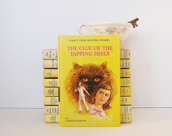 The Clue of The Tapping Heels, Nancy Drew Book by Carolyn Keene, Kids Mystery Books