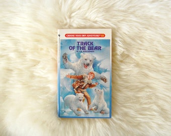 Choose Your Own Adventure Book, Track of the Bear Book #83