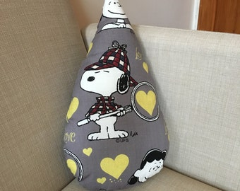 Snoopy raindrop cushion // ready to ship