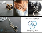 Custom Sterling Silver Collar