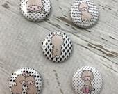 Llama Button Flair