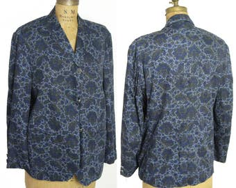 1970s Cotton Batik Jacket