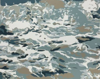 Jade Sea, original screen print