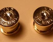 357 Ear Plugs With Swarovski Crystal 0g