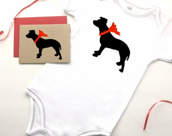Pit Bull Baby Bodysuit Organic Infant Clothes % to ANIMAL RESCUE Clothing Eco Friendly Jumper Romper Snapsuit One Piece Gift 3-6 mo 9-12 mo