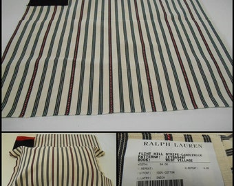 "Ralph Lauren Fabric - Flint Hill- pc w 26"" x 26"" -Remnant-LFY66948F- E"