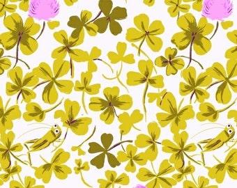 Half metre Lilac Cricket Clover, OOP Heather Ross, Briar Rose