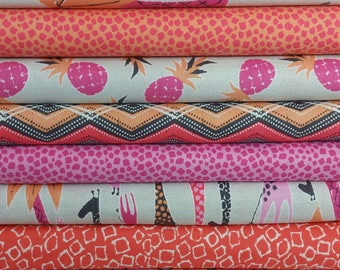 Pink Migration Bundle from Michael Miller ( 8 Fabrics Total)