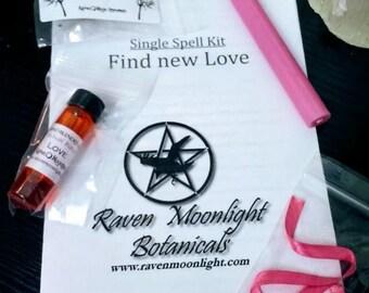 Find New Love Spell Kit