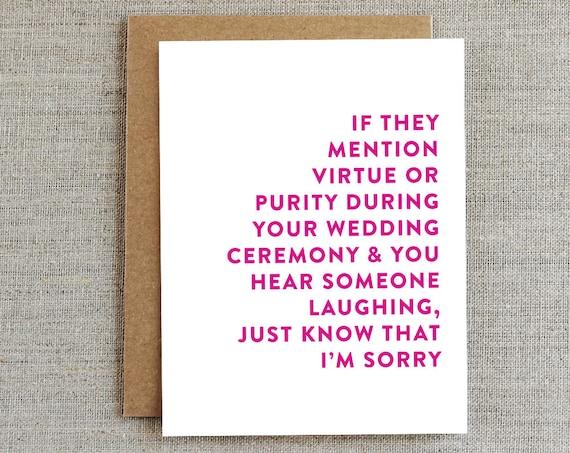 Gift Card Wedding Shower: Funny Wedding Card Funny Wedding Gift Wedding Shower Card