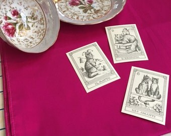 Pure Silk Tarot Spread Cloth FREE SHIPPING - genuine silk, altar cloth, spread cloth, divination, crystal grid