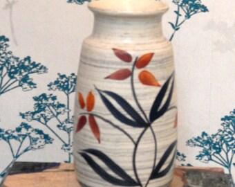 Vintage Vase  Scheurich - Marked  522/25 - Mid Century