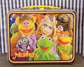 Vintage 1979 Jim Henson's Muppets Metal Lunchbox