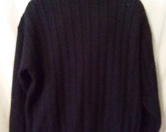 """BIG CLEARANCE SALE 80s Vintage Ungaro Uomo-80s Wool Blend Pullover Sweater-56"""" Chest-xL-Big Mans-Classic-High Fashion-Traditional Hipster"""