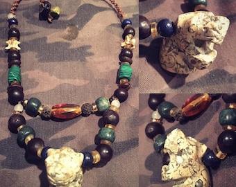 Mayan Jaguar Necklace
