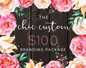 Custom Logo Design and Watermark Banner and Avatar Set OR Custom Logo and Business Card  for Small Crafty Boutiques and Photographers