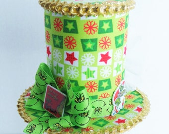 Christmas Mini Top Hat Birthday Tea Party One of a Kind