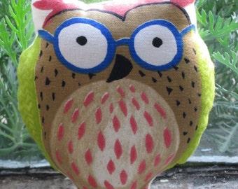Cute Printed Owl Pin Cushion