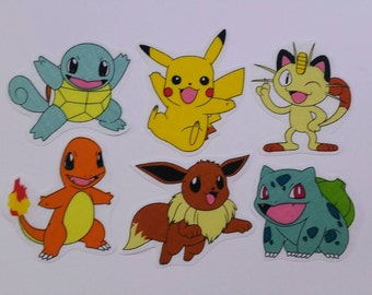 Pokemon Go Patches Applique Fabric Motifs Iron on or Sew on patches/embellishments/transfers