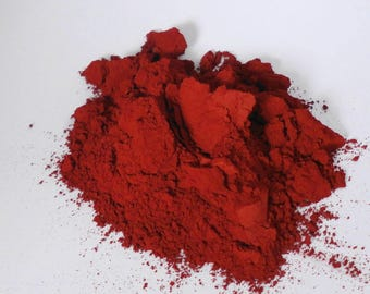 Red Matte Eye Shadow Sin City True Red Makeup Eyeshadow  loose  Eye Shadow   Mineral Makeup Vegan Natural  Pigmented Organic