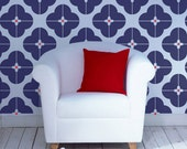 Bloom wall Stencil from The Stencil Studio. Reusable stencils for home decor, easy to use. 10475