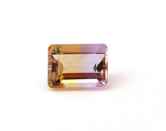 Ametrine Designer Gemstone 9.8x13.3x6.4 mm 5.9 carats Free Shipping