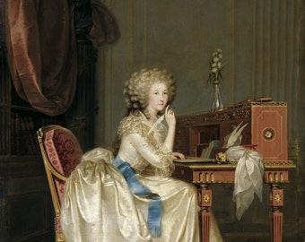 Fine Art Print of Princess of Laballe by Hickel