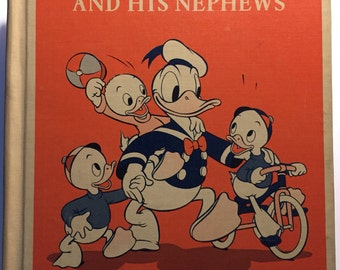 Donald Duck and His Nephews by Florence Brumbaugh - 1940