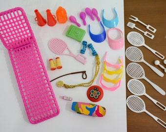 1980's Barbie Accessories - 34 Outdoor & Sports Accessories