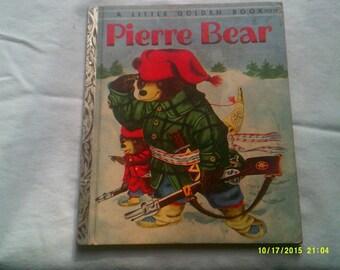 Pierre Bear A Little Golden Book