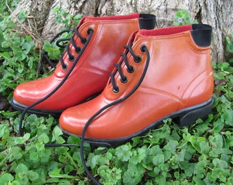 Vintage SPORTO Rubber ankle boots